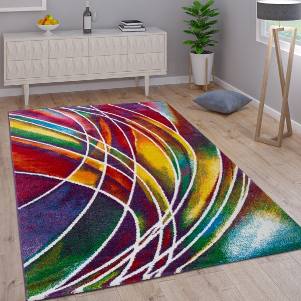 Alfombra Moderna Multicolor
