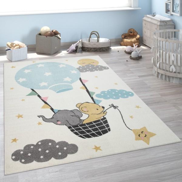 Alfombra Habitación Infantil Elefante Oso Luna